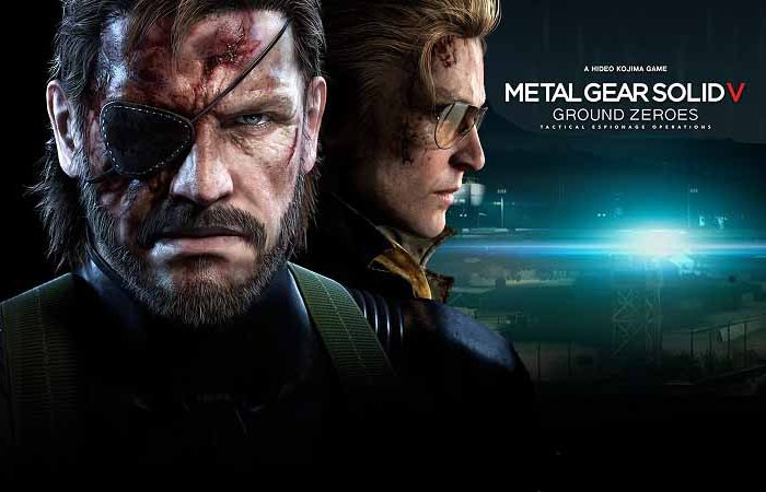 سی دی کی بازی Metal Gear Solid V: The Phantom Pain (اورجینال)