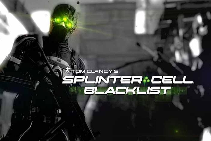 سی دی کی بازی Tom Clancy's Splinter Cell Blacklist اورجینال