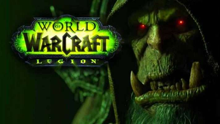 سی دی کی بازی World Of Warcraft Legion اورجینال