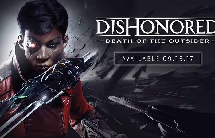 سی دی کی اورجینال Dishonored Death of the Outsider