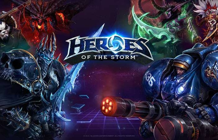 سی دی کی اورجینال Heroes of the Storm Starter Pack