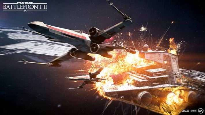 سی دی کی Star Wars Battlefront 2 (اورجینال)
