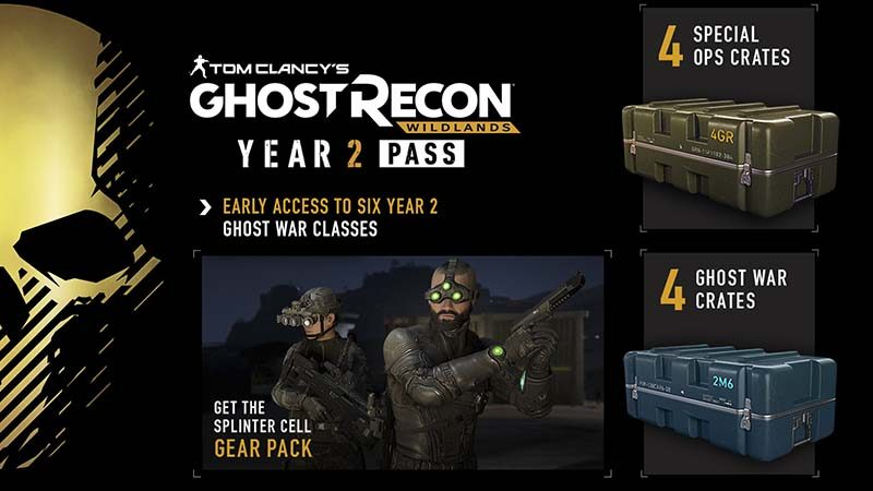 سی دی کی Tom Clancy's Ghost Recon Wildlands Year 2 Pass
