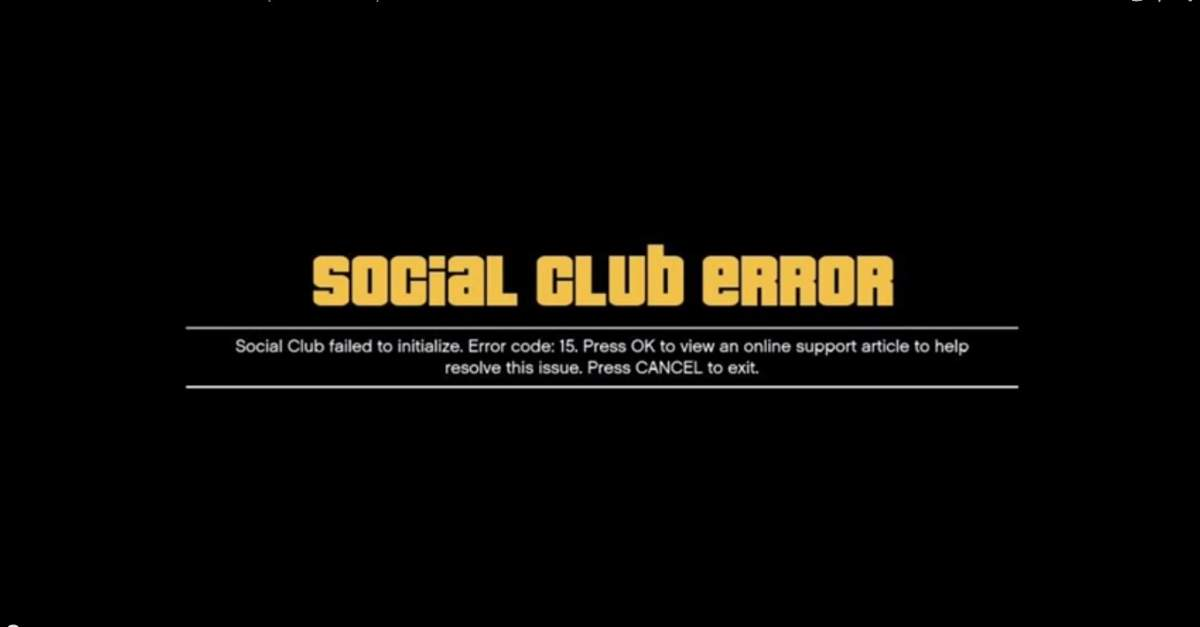 آموزش رفع ارور Social Club failed to initialize جی تی ای وی (GTA V)