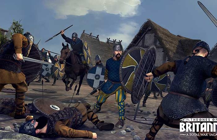 سی دی کی اورجینال Total War Saga Thrones of Britannia