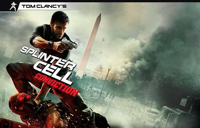 سی دی کی اورجینال Tom Clancy's Splinter Cell Conviction