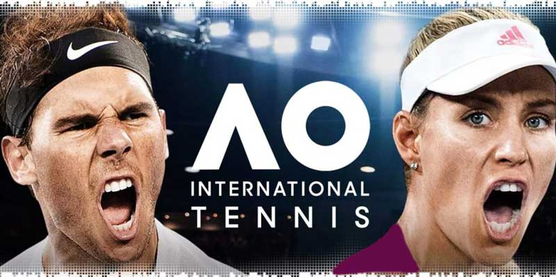 سی دی کی بازی AO International Tennis اورجینال